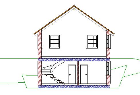 erste schritte konstruktion eines einfachen geb udes bringen sie das haus zu papier. Black Bedroom Furniture Sets. Home Design Ideas