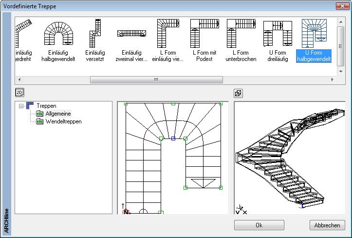 erste schritte konstruktion eines einfachen geb udes innen treppe. Black Bedroom Furniture Sets. Home Design Ideas